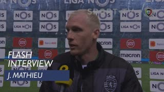 Liga (20ª): Flash Interview J. Mathieu