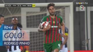 GOLO! Marítimo M., Rodrigo Pinho aos 90'+4', Portimonense 3-2 Marítimo M.