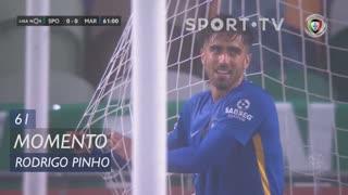 Marítimo M., Jogada, Rodrigo Pinho aos 61'