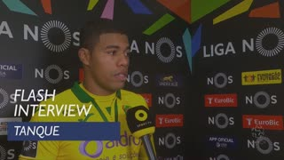 Liga (9ª): Flash Interview Tanque