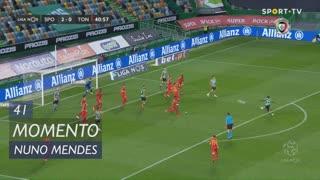 Sporting CP, Jogada, Nuno Mendes aos 41'