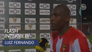 Liga (7ª): Flash Interview Luiz Fernando