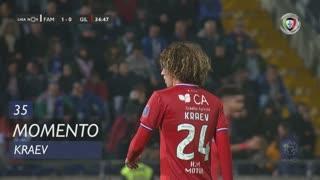 Gil Vicente FC, Jogada, Kraev aos 35'