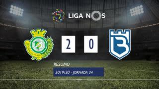 I Liga (34ªJ): Resumo Vitória FC 2-0 Belenenses