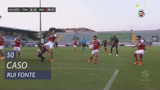 SC Braga, Caso, Rui Fonte aos 50'