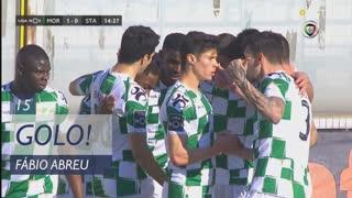 GOLO! Moreirense FC, Fábio Abreu aos 15', Moreirense FC 1-0 Santa Clara