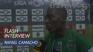 Liga (17ª): Flash Interview Rafael Camacho