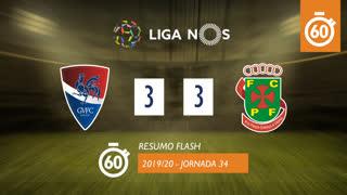 I Liga (34ªJ): Resumo Flash Gil Vicente FC 3-3 FC P.Ferreira