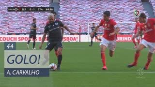 GOLO! Santa Clara, Anderson Carvalho aos 44', SL Benfica 0-1 Santa Clara