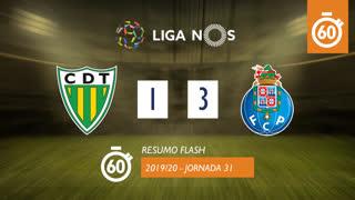 Liga NOS (31ªJ): Resumo Flash CD Tondela 1-3 FC Porto