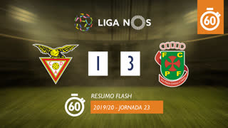 Liga NOS (23ªJ): Resumo Flash CD Aves 1-3 FC P.Ferreira