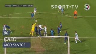 Moreirense FC, Caso, Iago Santos aos 80'