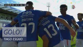 GOLO! Belenenses SAD, Tiago Esgaio aos 6', FC P.Ferreira 0-1 Belenenses SAD