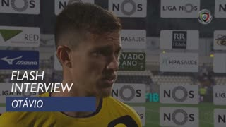 Liga (5ª): Flash Interview Otávio