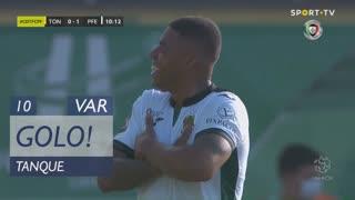 GOLO! FC P.Ferreira, Tanque aos 10', CD Tondela 0-1 FC P.Ferreira