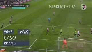 FC Famalicão, Caso, Riccieli aos 90'+2'