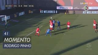 Marítimo M., Jogada, Rodrigo Pinho aos 41'