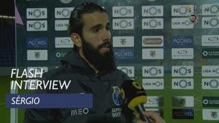 Liga (23ª): Flash Interview Sérgio