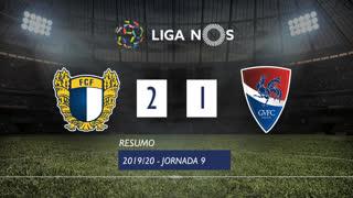 Liga NOS (9ªJ): Resumo FC Famalicão 2-1 Gil Vicente FC