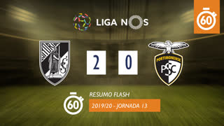 Liga NOS (13ªJ): Resumo Flash Vitória SC 2-0 Portimonense