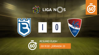 Liga NOS (33ªJ): Resumo Flash Belenenses 1-0 Gil Vicente FC