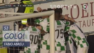 GOLO! Moreirense FC, Fábio Abreu aos 52', Gil Vicente FC 0-3 Moreirense FC