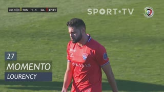 Gil Vicente FC, Jogada, Lourency aos 27'