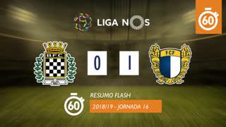 I Liga (16ªJ): Resumo Flash Boavista FC 0-1 FC Famalicão