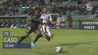 Vitória FC, Caso, Sílvio aos 75'