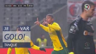 GOLO! FC P.Ferreira, Tanque aos 38', SC Braga 0-1 FC P.Ferreira
