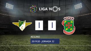 Liga NOS (32ªJ): Resumo Moreirense FC 1-1 FC P.Ferreira