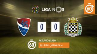 Liga NOS (6ªJ): Resumo Flash Gil Vicente FC 0-0 Boavista FC