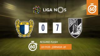 I Liga (20ªJ): Resumo Flash FC Famalicão 0-7 Vitória SC