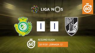 Liga NOS (12ªJ): Resumo Flash Vitória FC 1-1 Vitória SC