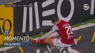 SC Braga, Jogada, Paulinho aos 75'