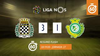 Liga NOS (27ªJ): Resumo Flash Boavista FC 3-1 Vitória FC