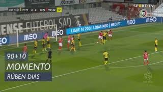 SL Benfica, Jogada, Rúben Dias aos 90'+10'