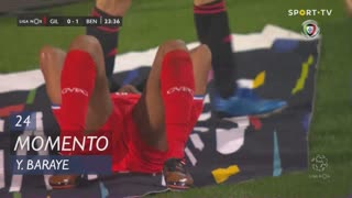 Gil Vicente FC, Jogada, Y. Baraye aos 24'