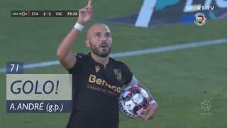 GOLO! Vitória SC, André André aos 71', Santa Clara 2-2 Vitória SC
