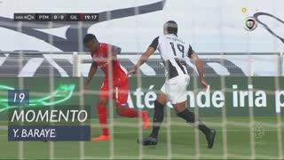 Gil Vicente FC, Jogada, Y. Baraye aos 19'