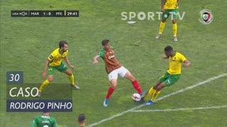 Marítimo M., Caso, Rodrigo Pinho aos 30'