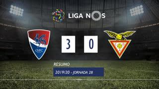 Liga NOS (28ªJ): Resumo Gil Vicente FC 3-0 CD Aves