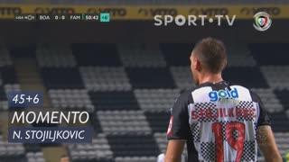 Boavista FC, Jogada, N. Stojiljkovic aos 45'+6'