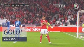 GOLO! SL Benfica, Vinícius aos 55', SL Benfica 4-0 Marítimo M.