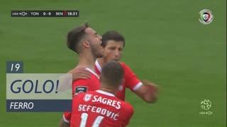 GOLO! SL Benfica, Ferro aos 19', CD Tondela 0-1 SL Benfica