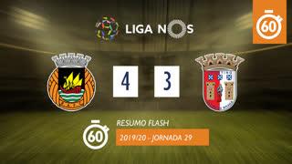 Liga NOS (29ªJ): Resumo Flash Rio Ave FC 4-3 SC Braga