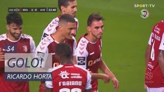 GOLO! SC Braga, Ricardo Horta aos 54', SC Braga 2-0 CD Aves