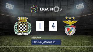 Liga NOS (13ªJ): Resumo Boavista FC 1-4 SL Benfica