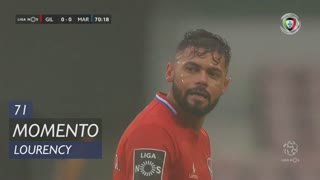 Gil Vicente FC, Jogada, Lourency aos 71'