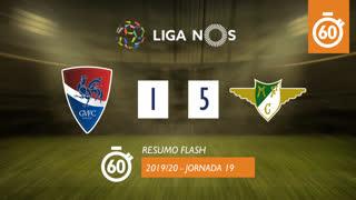 Liga NOS (19ªJ): Resumo Flash Gil Vicente FC 1-5 Moreirense FC